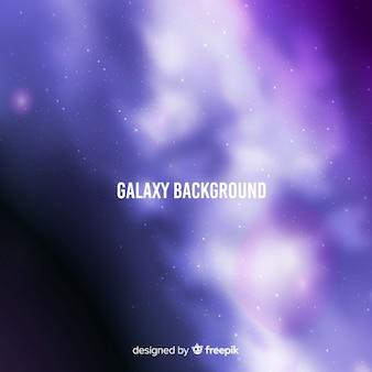 Fondo de galaxia borrosa