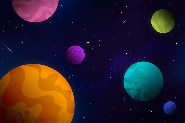 Fondo de galaxia degradado
