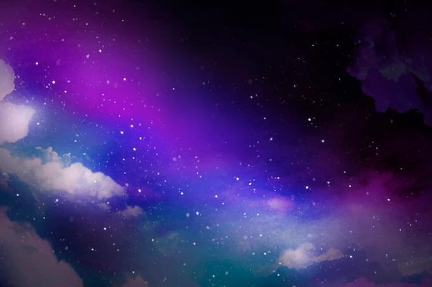 Fondo de galaxia espacial