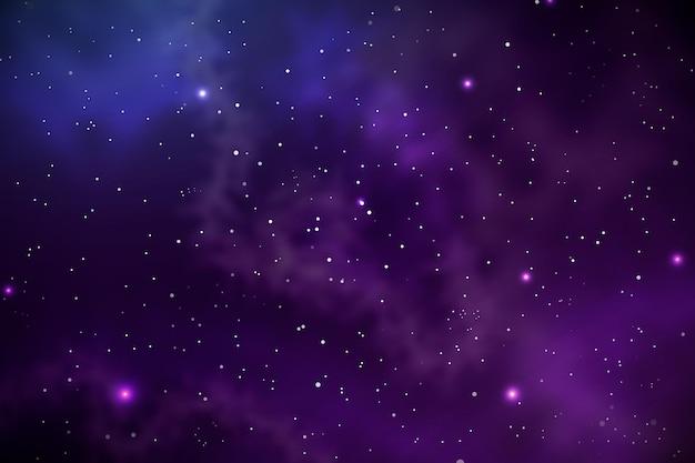 Fondo de galaxia realista