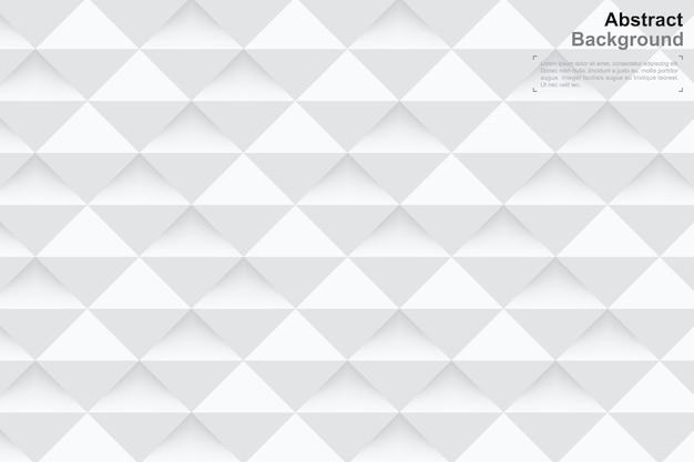 Fondo de geometría 3d en estilo de arte de papel. patrón mínimo.