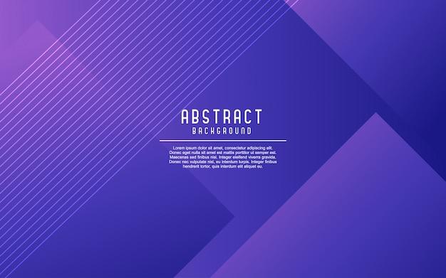 Fondo geométrico abstracto azul degradado.