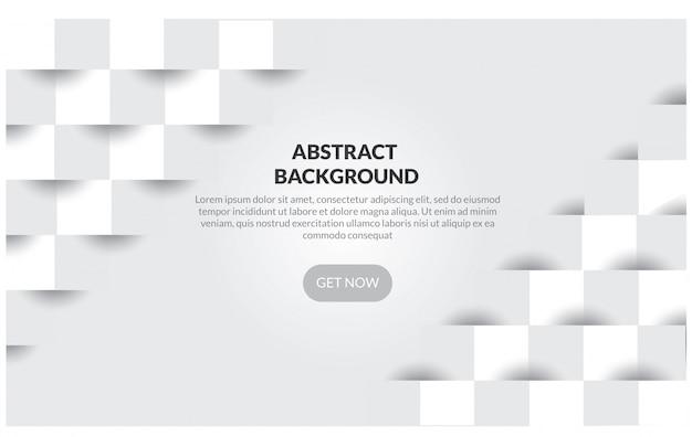 Fondo geométrico abstracto del color blanco y gris,