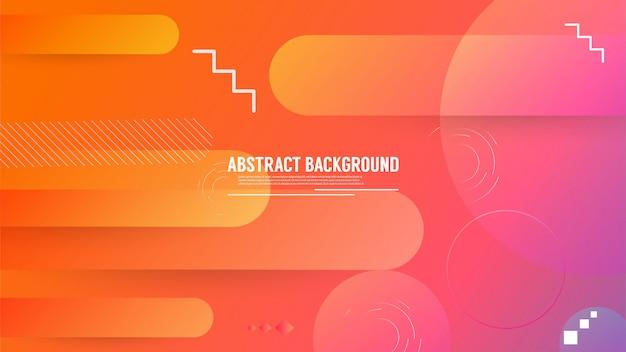 Fondo geométrico abstracto con color degradado