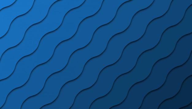 Fondo geométrico abstracto con formas de corte de papel.