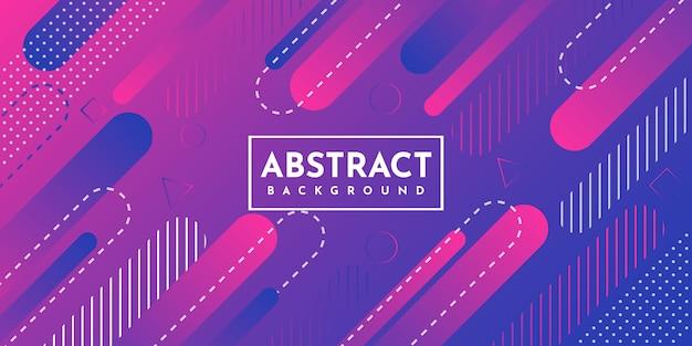 Fondo geométrico abstracto con gradiente dinámico