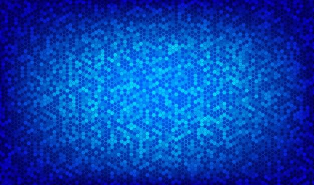 Fondo geométrico abstracto hexagonal.