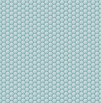 Fondo geométrico abstracto de los hexágonos del panal. vector