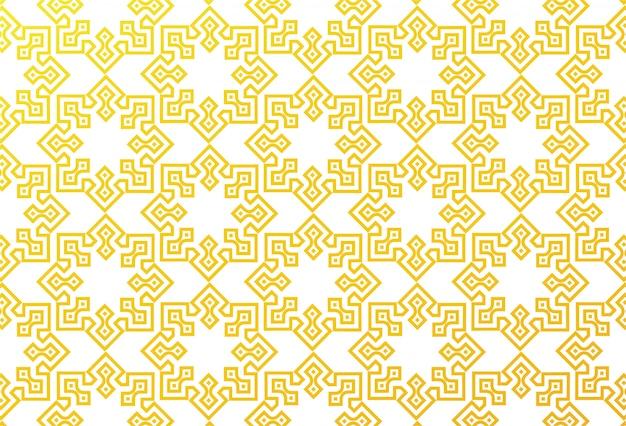 Fondo geométrico abstracto del modelo islámico