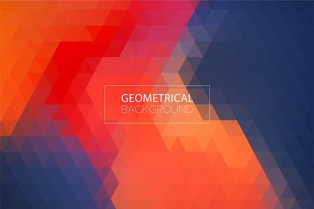 Fondo geométrico abstracto moderno