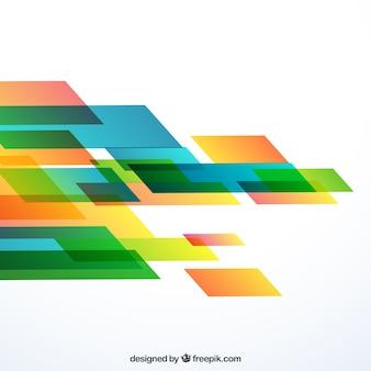 Fondo geométrico abstracto en movimiento