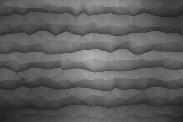 Fondo geométrico abstracto del vector 3d