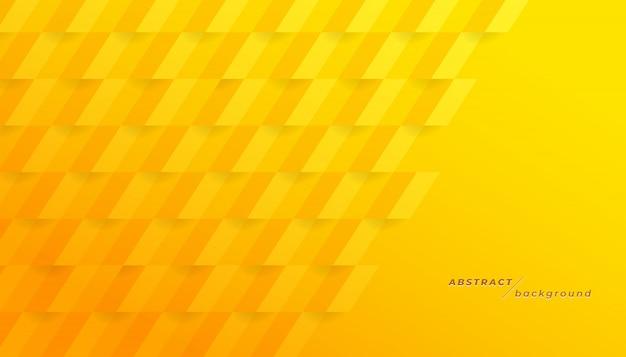 Fondo geométrico amarillo abstracto.