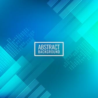 Fondo geométrico azul abstracto