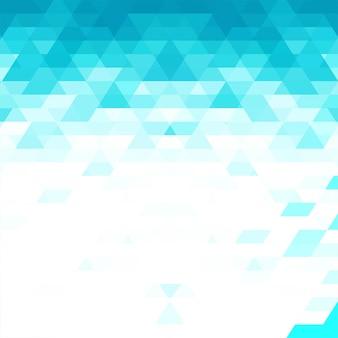 Fondo geométrico azul moderno