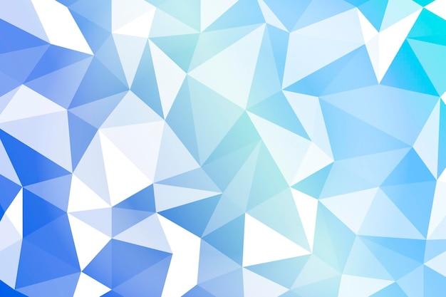 Fondo geométrico azul