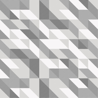 Fondo geométrico blanco y negro