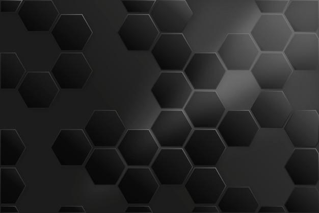 Fondo geométrico blanco y negro vector gratuito