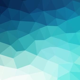 Fondo geométrico colorido azul abstracto