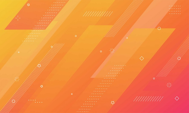 Fondo geométrico colorido composición de formas dinámicas