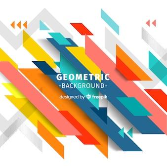 Fondo geometrico colorido