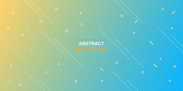 Fondo geométrico degradado abstracto dinámico