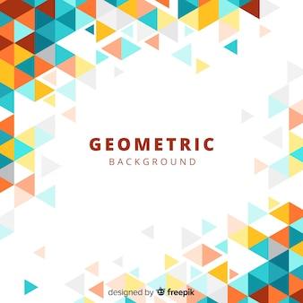 Fondo geométrico con degradado