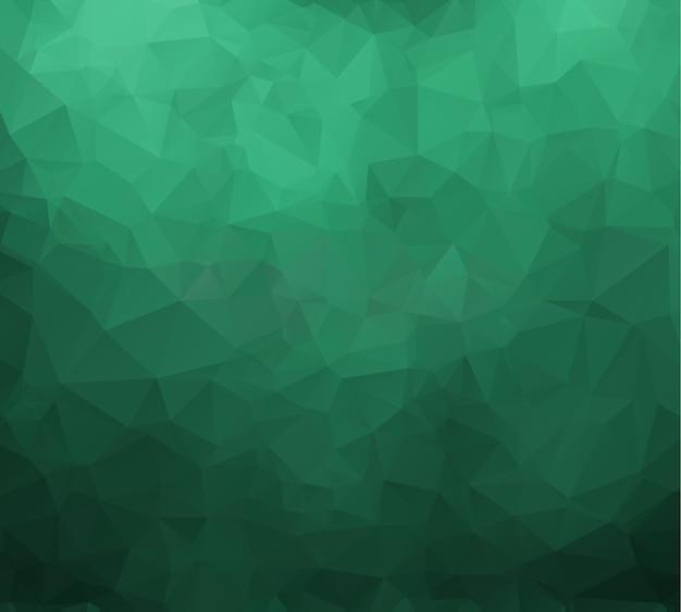 Fondo geométrico en estilo origami con degradado