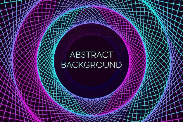 Fondo geométrico líneas con degradado de color. estilo abstracto