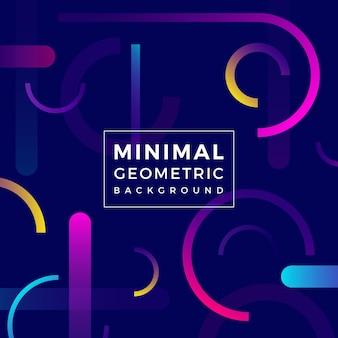 Fondo geométrico mínimo