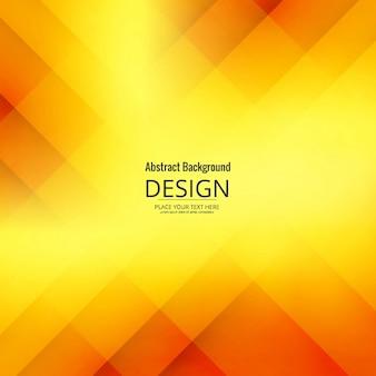 Fondo geométrico moderno amarillo