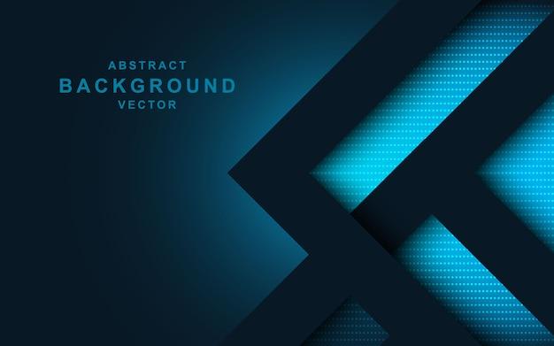 Fondo geométrico moderno diseño abstracto