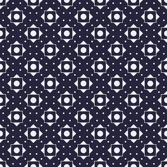 Fondo geométrico moderno de patrones sin fisuras. papel pintado clásico de batik.