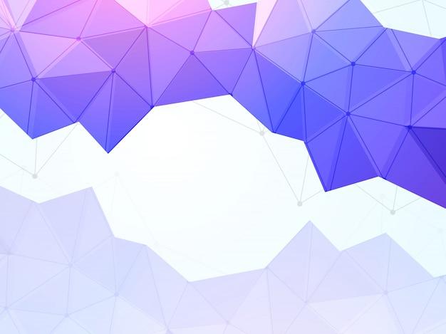 Fondo geométrico morado