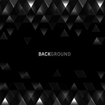 Fondo geométrico negro