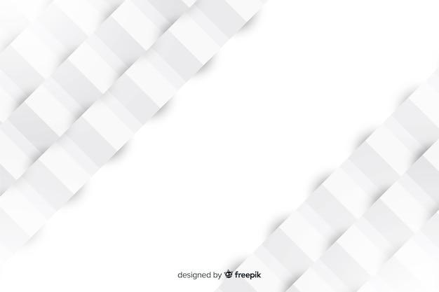 Fondo geométrico en papel estilo