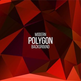 Fondo geométrico poligonal abstracto