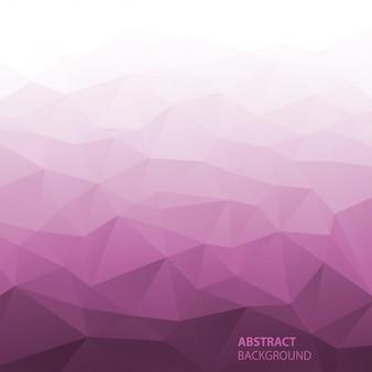Fondo geométrico rosado degradado abstracto. ilustración