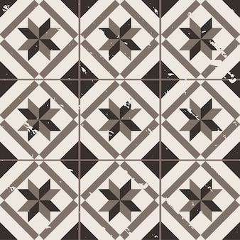 fondo geométrico de la vendimia
