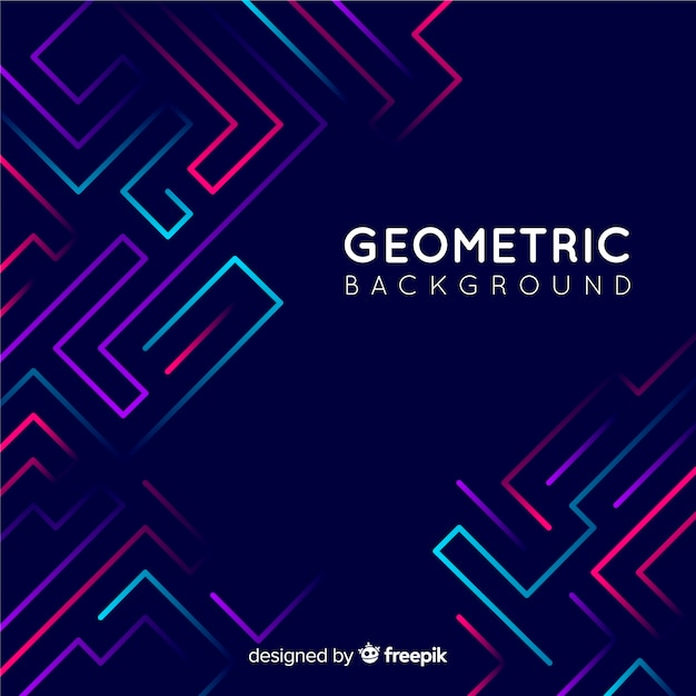 Fondo geometrico vector