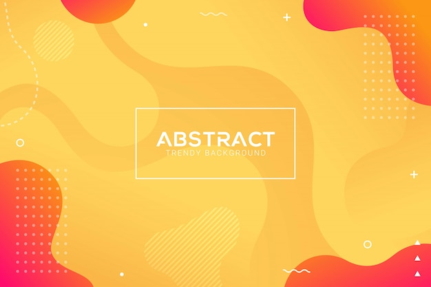 Fondo de gradación de color de moda líquido abstracto dinámico