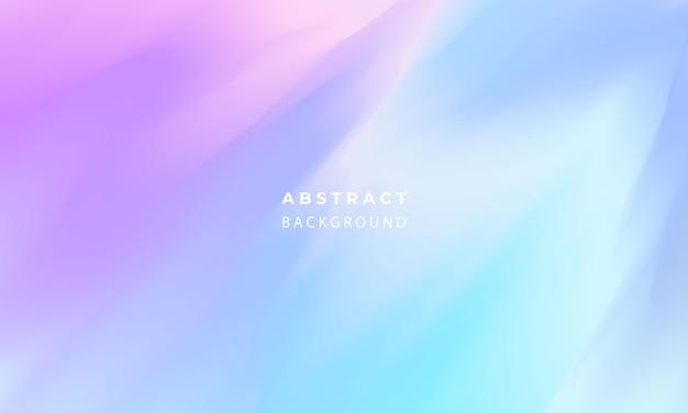 Fondo de gradiente de arco iris pastel abstracto concepto de ecología para su diseño gráfico