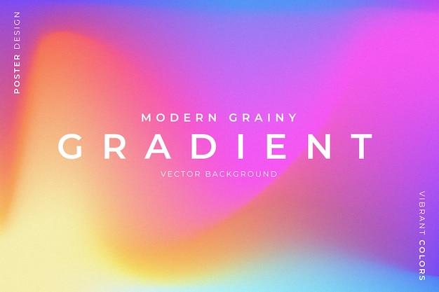 Fondo granulado de moda con colores vibrantes