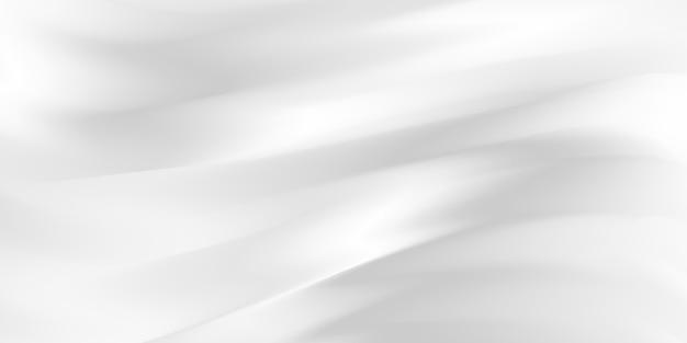 Fondo gris abstracto con ondas dinámicas