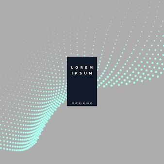 Fondo gris con puntos de partículas