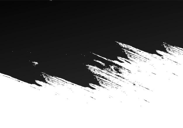 Fondo de grunge abstracto negro splat