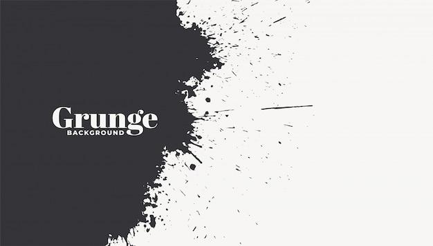 Fondo de grunge abstracto salpicaduras de tinta