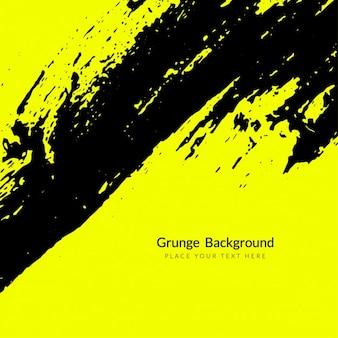 Fondo grunge amarillo