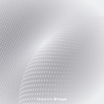 Fondo halftone abstracto blanco