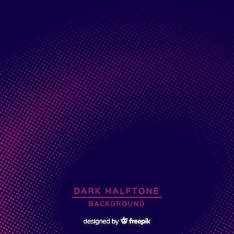 Fondo halftone oscuro